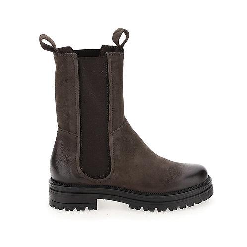 Boots chelsea montantes en cuir