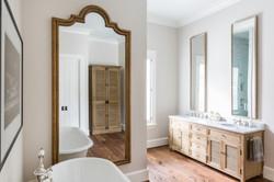 Kirksey Homes custom bathroom.