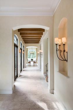 Kirksey Homes custom foyer.