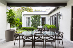 Kirksey Homes custom outdoor living.