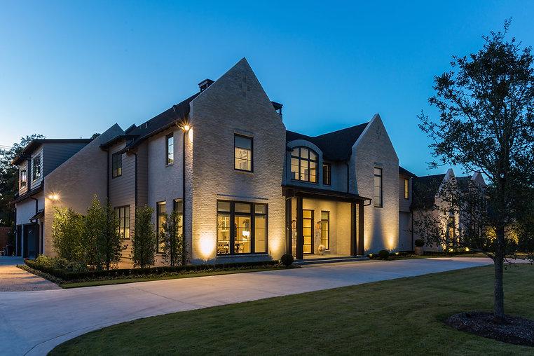 Kirksey Homes custom exterior.