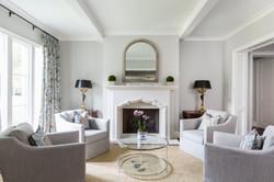 Kirksey Homes custom sitting room.