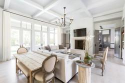 Kirksey Homes custom living room.