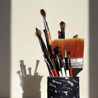 Leftover brushes