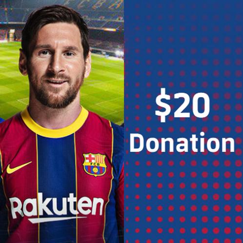 $20 - Sponsorship Donation
