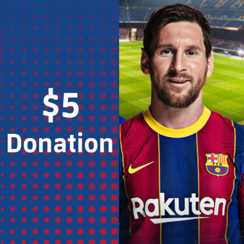 $5 - Sponsorship Donation
