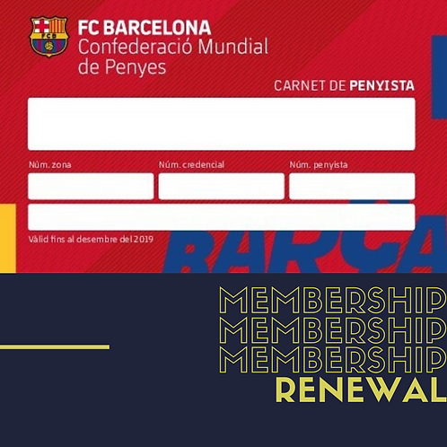 Membership Fee (Renewal)
