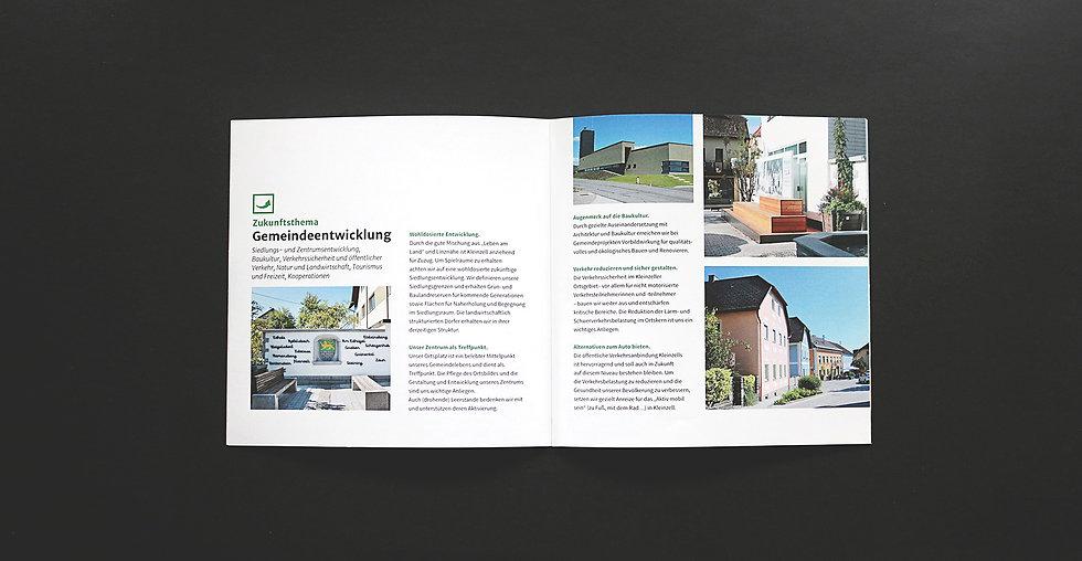 Image folder, Doppelseite, RIZAGO design