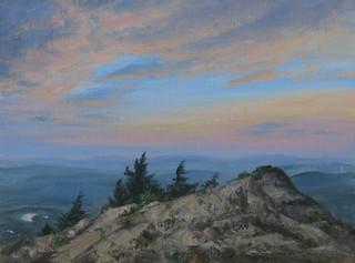 Grandfather Mountain Sundown