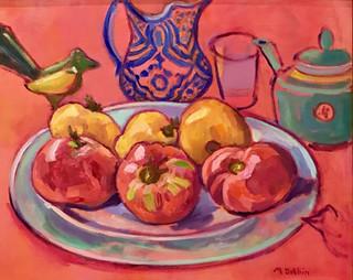 Mary Dobbin - Fruits of the Season - 16x30.jpg