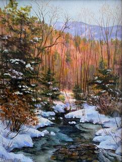 High Country Winter Creek