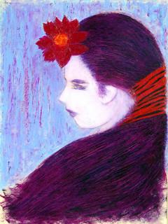 Flower Child in Purple