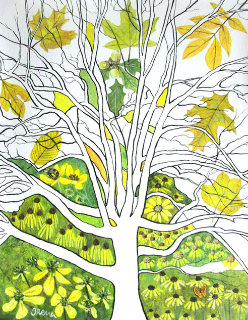 Old Yellow Tree