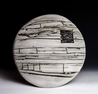 Small White Dome with Stones