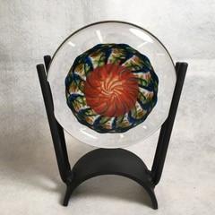 Robinson Scott - Glass disc in metal sta