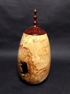 Box Slider Vase with Hole (Alternate View)