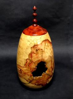 Box Slider Vase with Hole