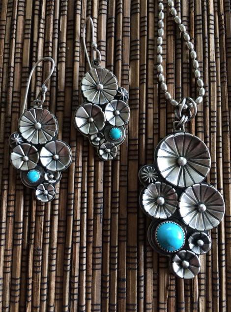 Earrings & Necklace