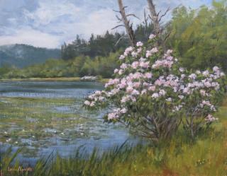 Mountain Laurel By Bass Lake