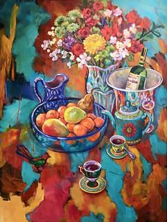 Marry Dobbin - Autumn Bouquet - 36x48.jpg
