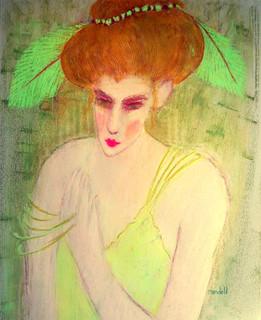 Green-Eyed Woman