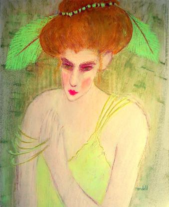 Arlene Mandell - Green-Eyed Woman - Past