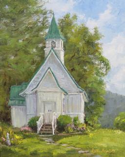 June Morning at St John's Episcopal Church