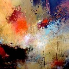 Lisa Boardwine - Fading Layers - 32x32 -