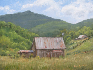 Barn By Old Creek