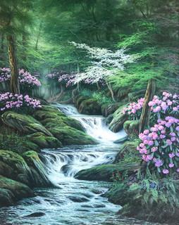 Appalachian Spring Waterfall