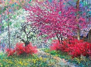 Egi Antonaccio - Spring Flora 3 - 42x52