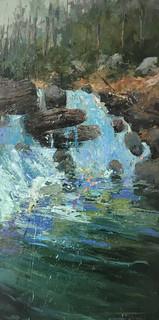 Rhododendron Falls II