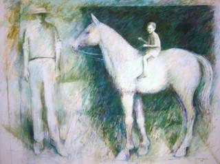 Boy on Horse #2