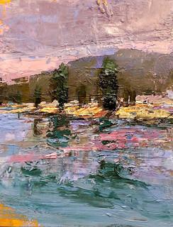 Lake and Trees II