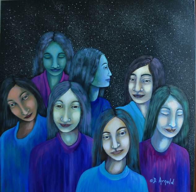 Seven Sisters of Pleiades