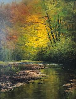 Watauga River in Autumn