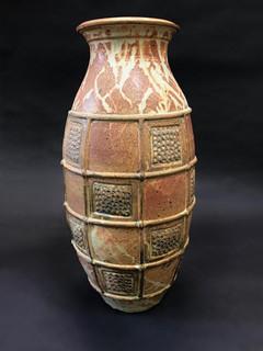 Large Tan Vase