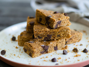 Flourless Chocolate Chip Blondies Recipe