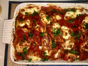 Chicken (Or Eggplant) Parmesan