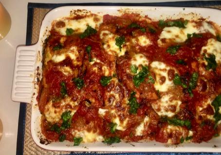 Chicken (Or Eggplant) Parmesan