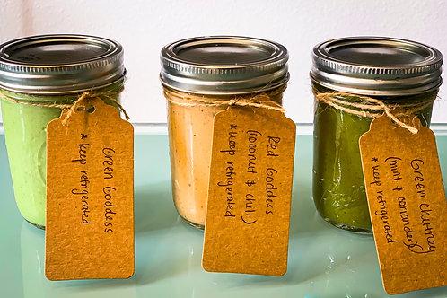 Trio of Homemade Sauces