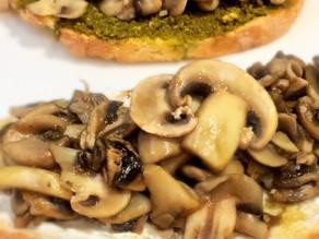 Variety Mushroom Toast
