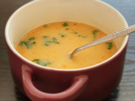 5 Minute Egg Drop Soup
