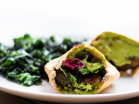 Homemade Falafel & Tahini Sauce | Falafel Recipe