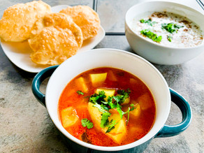 Tomato & Aloo Curry