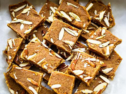 Besan Barfi (Little Indian Sweets)