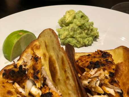 Chipotle Rubbed Fish Tacos