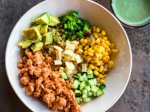 Chipotle Salmon and Quinoa Bowls