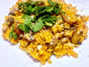 Butternut Squash (Quinoa) Risotto