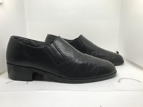 Chaussures talon cuir